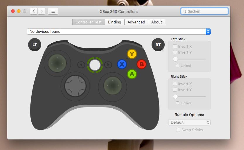 Xbox 360 Controller unter OS X verwenden