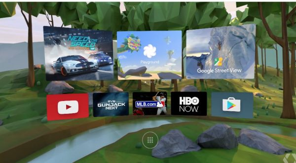 Google Daydream UI in Android N