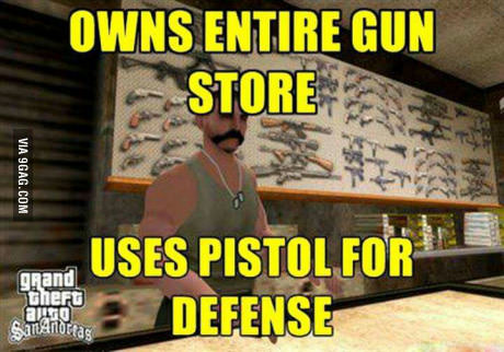 GTA San Andreas Waffenhändler Meme