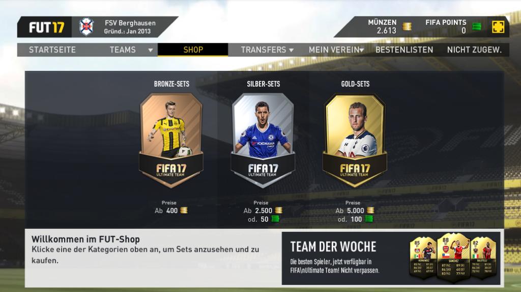 ultimate team coins verdienen