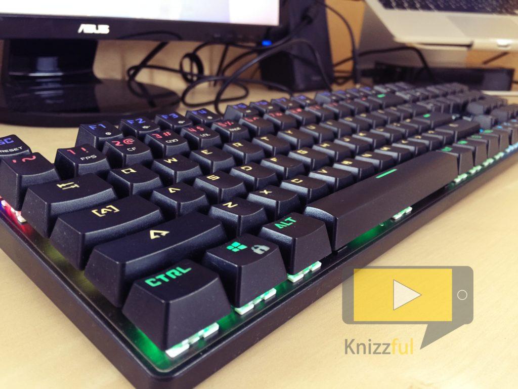 Aukey mechanische Gaming Tastatur - Knizzful