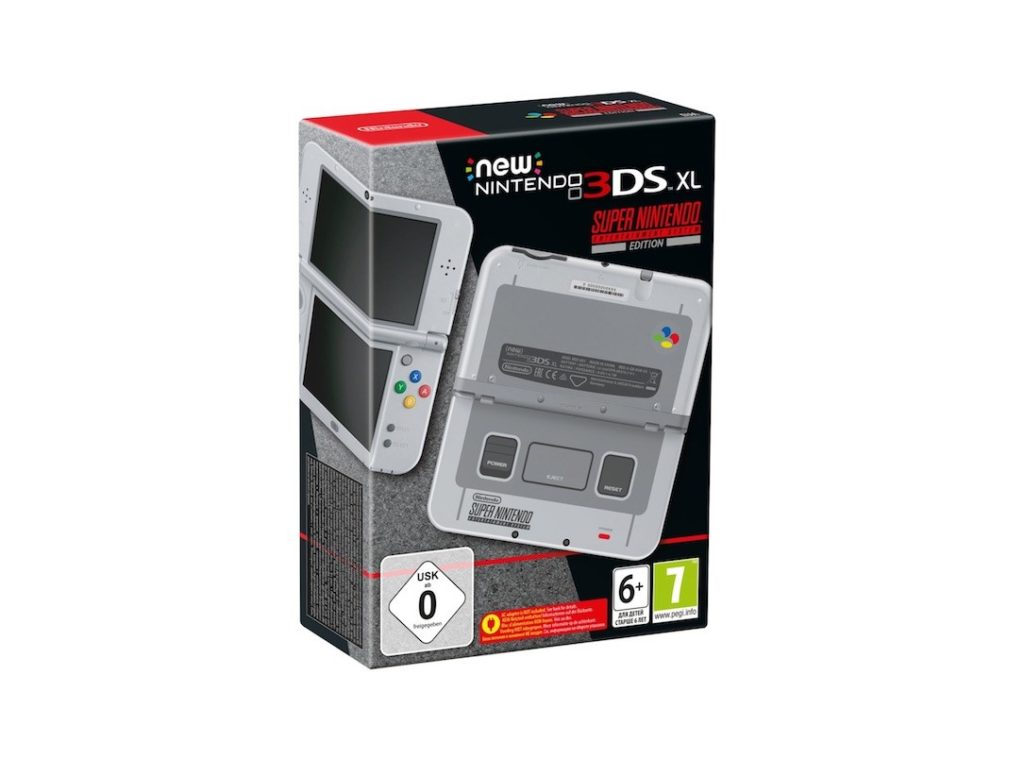 New Nintendo 3DS XL SNES Sonderedition