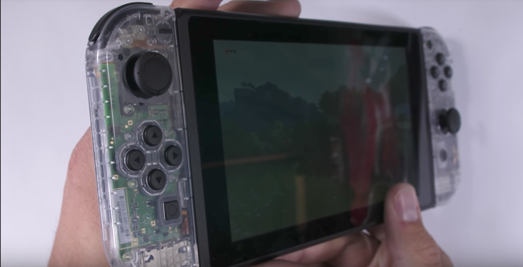 Nintendo Switch Clear Edition selbst gemacht
