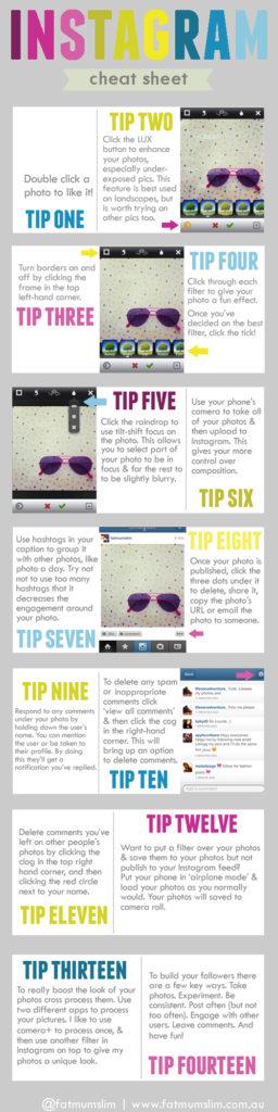 [Infografik] 14 Tipps für die Benutzung von Instagram