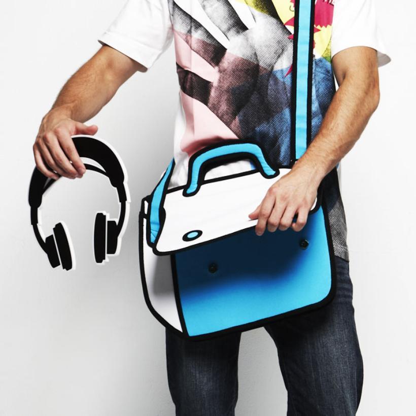 [Fundstück] 2D Cartoon Handtasche