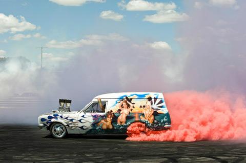 [Fundstück] Burnout Racing in Australien