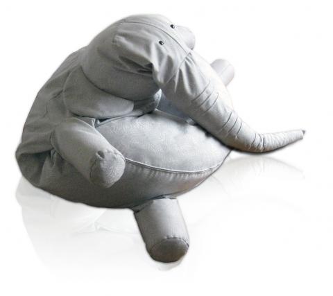 [Fundstück] TANTO der Sitzsack Elefant