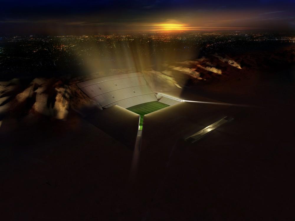 [Fundstück] Das al-Ain Stadion