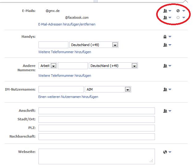 [Tut] Facebook E-Mail-Adresse löschen