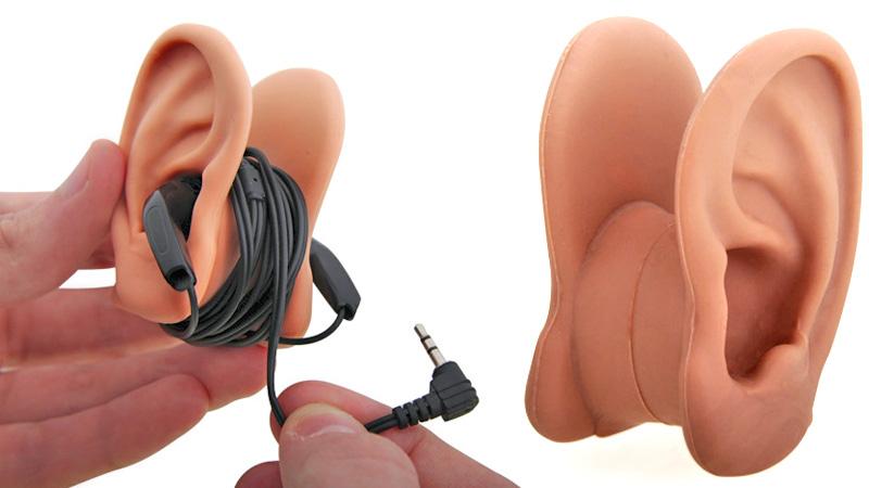 [Fundstück] Cooler Aufbewahrungsort für Kopfhörer