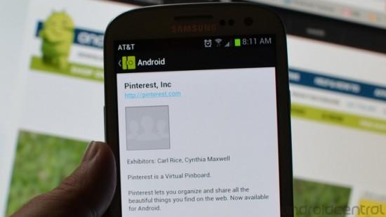 Pinterest bald auch für Android