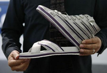 [Fundstück] Aus Sneakers werden Flip-Flops