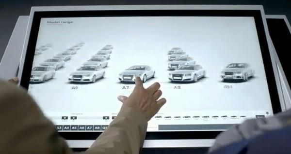 [Fundstück] Audi zeigt das Autohaus der Zukunft
