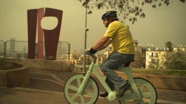 [Fundstück] Funktionsfähiges Fahrrad aus Pappe