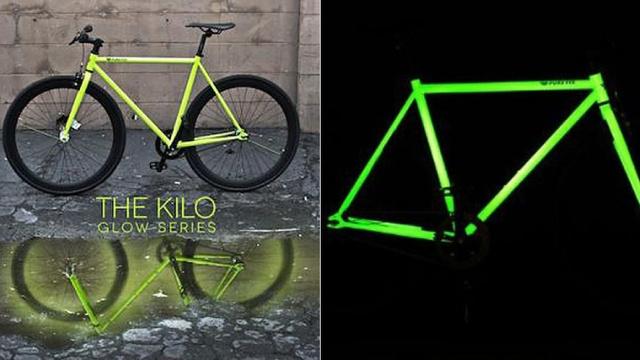 [Fundstück] Selbstleuchtendes Fahrrad