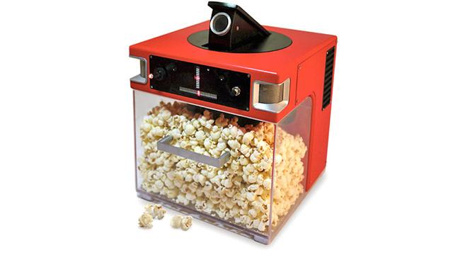 "Sprachgesteuerte Popcornmaschine ""Popinator"""