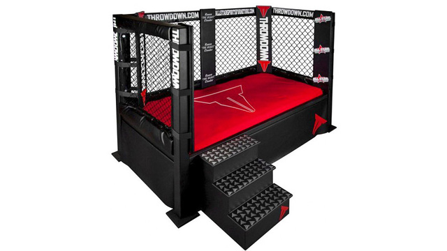 [Fundstück] MMA Cage Bed