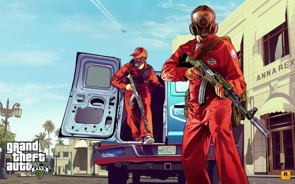 GTA 5 – Artwork und Infoflut