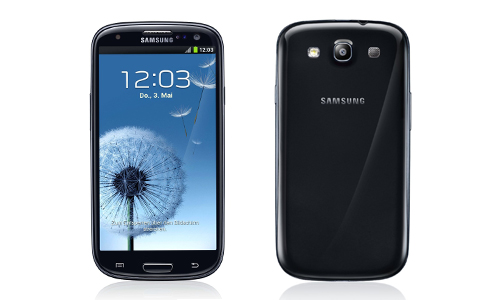 Galaxy S3 in schwarz & Galaxy Mini [Update]