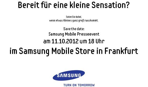 Kommt das Galaxy S3 Mini im Oktober?