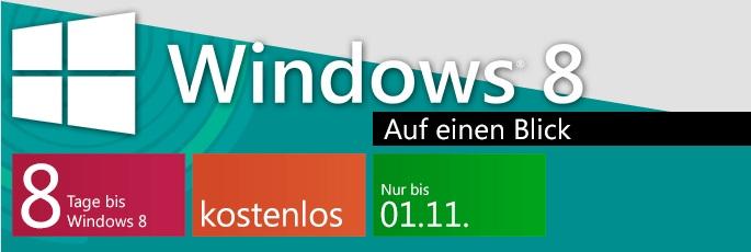 Windows 8 auf einen Blick