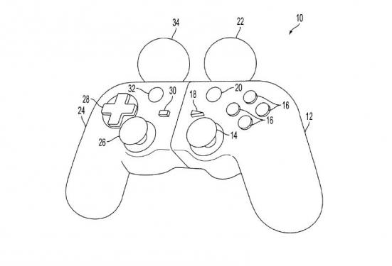 Sony-Patent für neuartigen Controller (PS4)