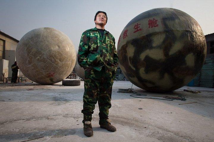 Chinese entwirft Rettungskapsel für den Weltuntergang