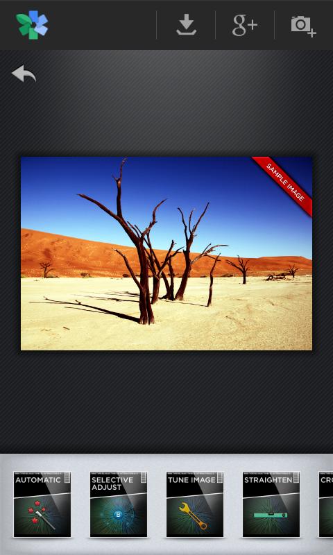 DIE App #2 – Snapseed