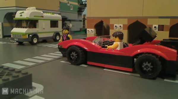 GTA 5 Trailer mit LEGO-Figuren