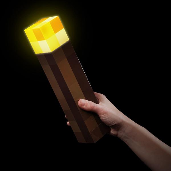 Fackel aus Minecraft jetzt im realen Leben kaufen