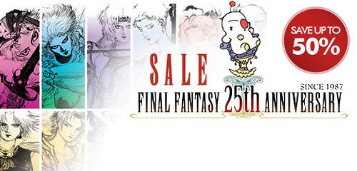 Square Enix: Final Fantasy Verkaufsaktion auf PSN