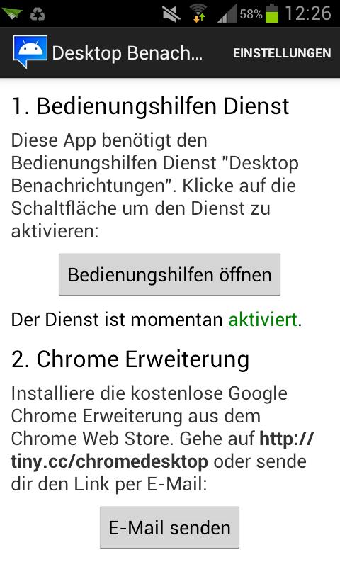 DIE App #7 – Desktop Notification