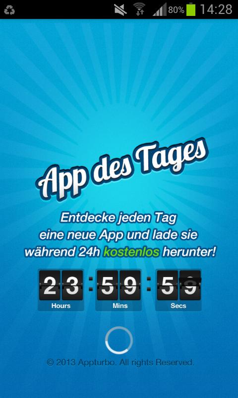 DIE App #9 – App des Tages