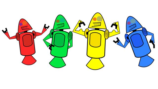 Originalskizze vom Android-Maskottchen