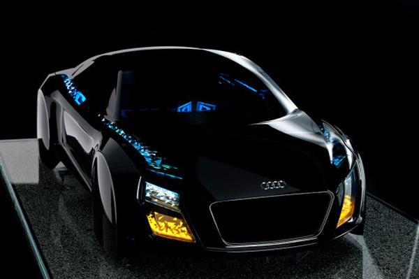 """Audi: Intelligentes OLED """"The swarm"""""""