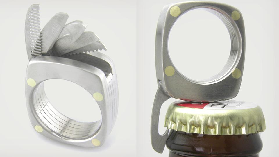[Fundstück] Titanium Utility Ring