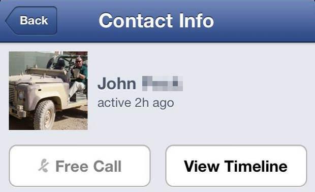 Facebook Messenger jetzt mit Telefon-Funktion