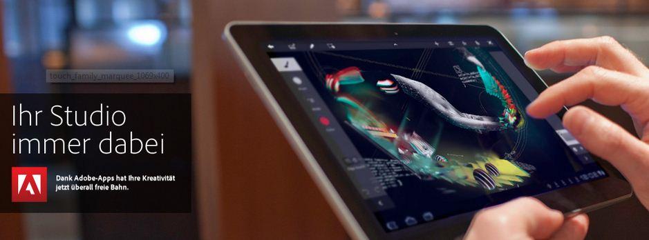 Adobe stellt fast alle Touch Apps ein