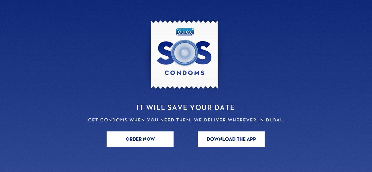 SOS Condoms – der Notfallservice für jedes Date
