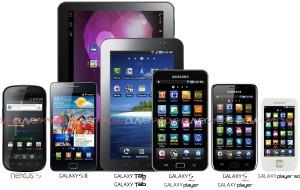 Update-Liste von Samsung-Geräten