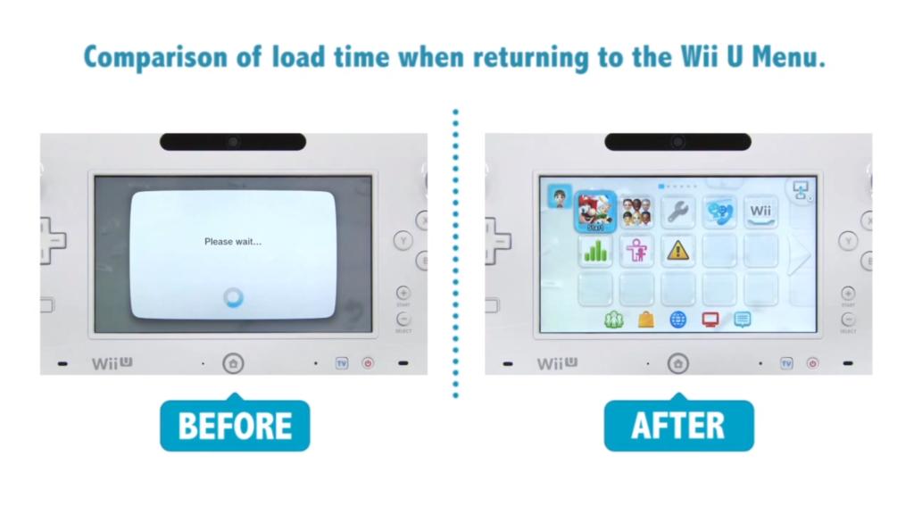 Nintendo Wii U: schneller dank Update