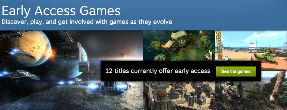 Steam Early Access: Spiele schon in der Entwicklungsphase kaufen