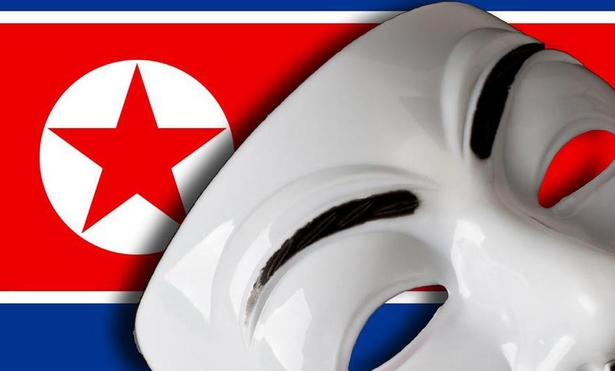 Nordkorea von Anonymous attackiert