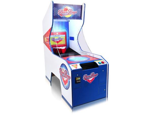 [Fundstück] Bierpong Spielautomat