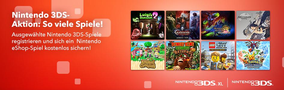 Gratis Nintendo 3DS Spiel abräumen