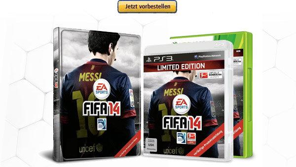 FIFA 14 Limited Edition jetzt bei Amazon