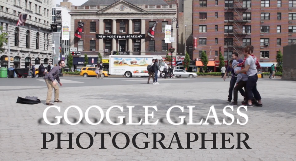 So bescheuert könnten Google Glass Fotografen aussehen