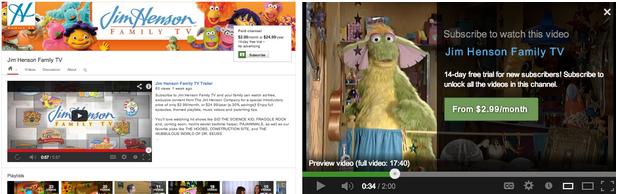 YouTube jetzt mit kostenpflichtigen Kanälen