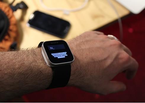 Zoomboard: Tastatur für die Smartwatch
