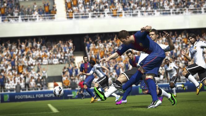 FIFA 14: Gameplay-Trailer zeigt Spielszenen und Features